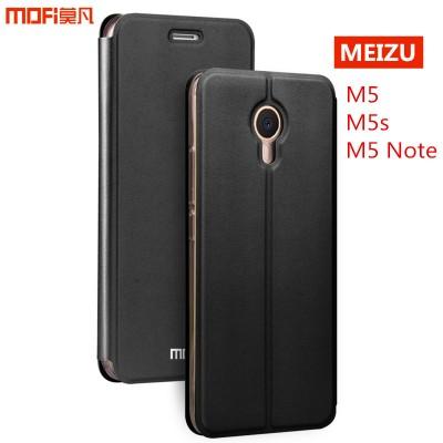 Meizu m5s case cover m5 note case m5 cover MOFi original PU leather flip case stand holder capa coque funda housing meizu m5