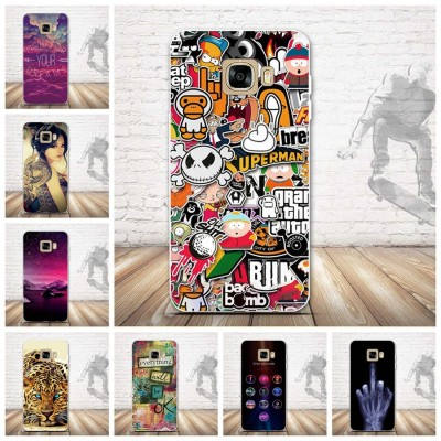 Phone Case For Samsung Galaxy C7 C7000 Soft Silicon Phone Case Skin TPU Cover For Samsung Galaxy C7 C7000 Luxury Back Case