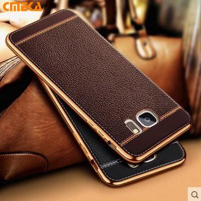 For Samsung s8 Case C5 C7 Luxury Plating Design Soft TPU Phone Case For Samsung Galaxy S7 Edge S6 s8 Plus C5 C7 C9 Pro Case