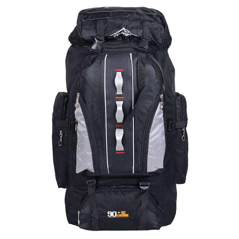0a6e64322e lightweight hiking backpack best day hiking backpack Outdoor mountaineering  bags 90L+10Lwater repellent nylon shoulder bag men and women travel hiking  ...
