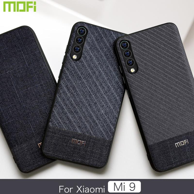 Xiaomi Mi 9 Phone Case Mofi Business Fabrics Xiaomi Mi 9 Case Cover Back Cover Mi 9 Case