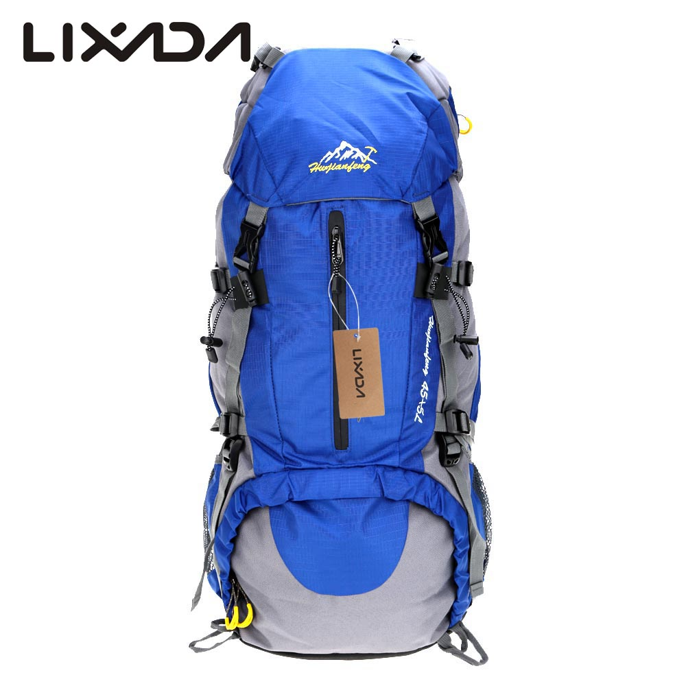 lightweight hiking backpack best day hiking backpack 50L Waterproof Outdoor  Bags Sport Hiking Camping Travel Backpack Pack Mountaineering Climbing  Knapsack ... 32198c584ea0c