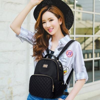 Female Backpack Nylon Women Backpack High Qulaity Shoulder Bags Student Bag Black Backpack