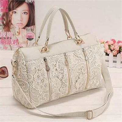 Sexy Bags 2019 New fashion trendy hot sale Vintage Sexy Women princess Lace Clutch Shoulder Purse Handbag Tote Bag for women