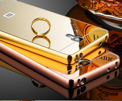 Luxury Aluminum Acrylic Mirror Case For Xiaomi Mi 4 Mobile Phone Protective Back Cover For Xiaomi Mi4 M4