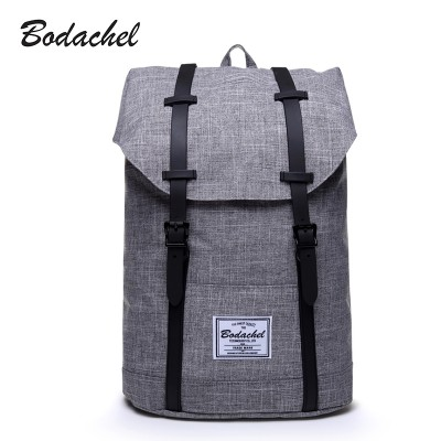 Bodachel Backpack Men High Quality Male Backpack School Bags Large Capacity Bagpack Notebook Backpacks Waterproof Oxford 21L
