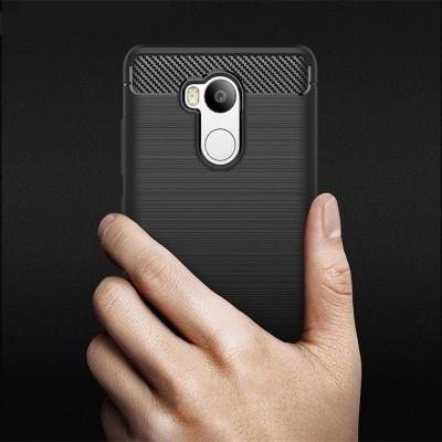 Phone Case For Xiaomi Redmi 4 Pro Luxury Carbon Fiber Anti-drop TPU Soft Cover For Redmi 4 Pro Back Cover Redmi 4 Pro Prime