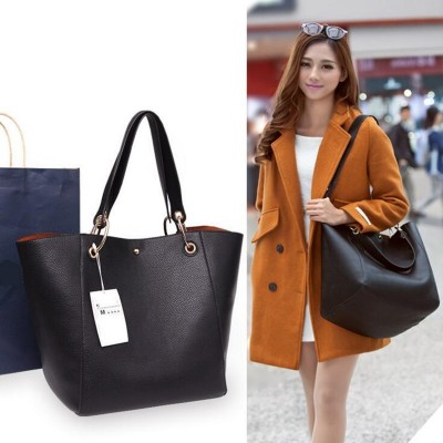 Women Genuine Leather Handbags Big Tote Bag Famous Brand Design Ladies Shopping Bag Fashion Casual Shoulder Bags Sac Femme