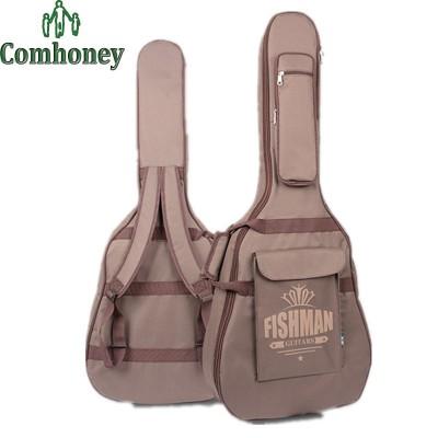 41  Waterproof Guitar Backpack Bag Electric Guitar Gig Bag Oxford Padded Black Guitar Case With Shoulder Straps Pocket Cover