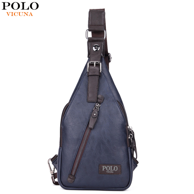 d0ab01605f49 VICUNA POLO Famous Brand Theftproof Magnetic Button Open Leather ...