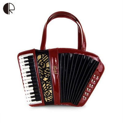 Fashion Unique Vintage  Accordion Shaped Purse and Handbags with Chain Strap  Unique Exotic Womens Personality Handbags Shoulder Crossbody Bags