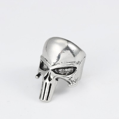 Skull Ring For Men Jewelry Vintage Steampunk Halloween Gifts Hollow Skull Punk Rings Of Anime Hip Hop Ring Finger Christmas Xmas