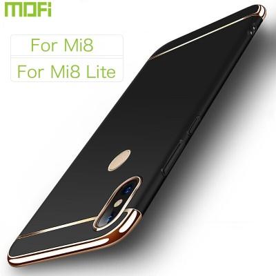 Xiaomi Mi 8 Case Xiaomi Mi 8 Lite Case Cover Hard Back Cover Luxury Mi 8 Lite Cover Case Mofi