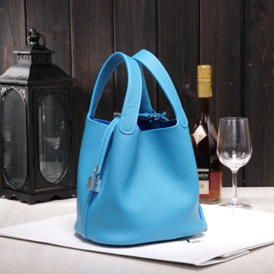2019 Fashion Genuine Leather Bucket Bag Basket Classic Female Small Cowhide Handbag