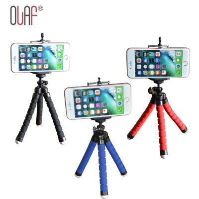 Car Phone Holder Flexible Octopus Tripod Bracket Selfie Stand Mount Monopod Styling Accessories For Mobile Phone Camera