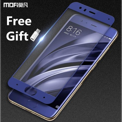 MOFi Case for Xiaomi mi6 glass xiaomi mi 6 glass tempered glass screen protector 9H 2.5D protective glass display guard xiaomi 6