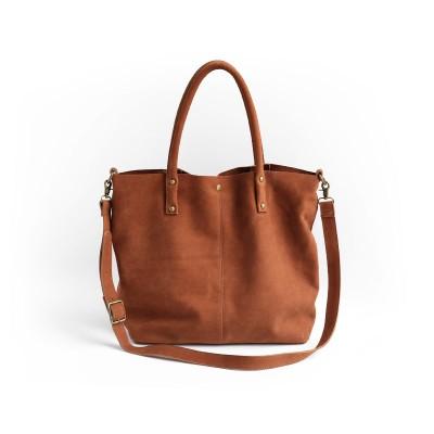 2019 Direct Selling New Arrival Women Portfolio Bucket Handmade Genuine Leather Bag Soft Messenger One Shoulder Big 2382
