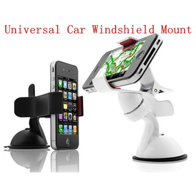 Universal Mobile Phone Holder For Samsung Galaxy J5 Rotating Car Windshield Mount For Samsung J5 Phone Car Holder <