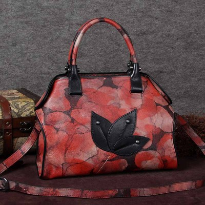Vintage bags women's handmade first layer of cowhide female bag small handbag messenger bag female shoulder bag