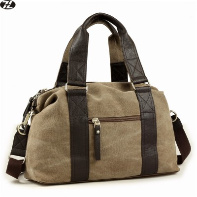 high quality canvas men travel duffel bag England Style man handbag vintage casual men messenger shoulder crossbody Laptop bags