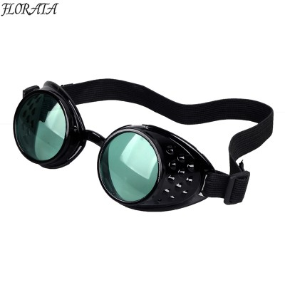 New Fashion High Quality Gothic Cosplay Steampunk Goggles Glasses Welding Punk Fast Delivery
