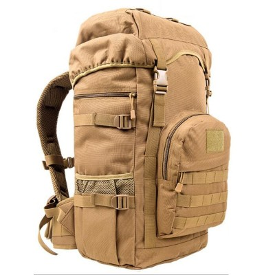 High Quality 50L Men Backpack Travel Rucksack Heavy Duty Bag Movement Mountaineering BackPack Molle Backpacks