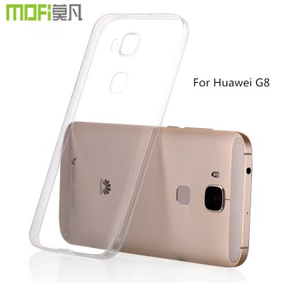 Huawei G8 case silicon huawei g7 plus tpu soft cover transparent protective case mofi original g7 plus back cover clear 5.5 inch Phone Cases For huawei