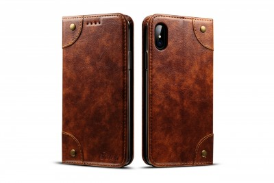 Best Brown flip case for iPhone 6/iPhone 6s/iPhone 6S Plus/iPhone 7/iPhone 7 Plus//iPhone 8/iPhone 8 Plus/iPhone X/iPhone XS/iPhone XR/iPhone XS Max