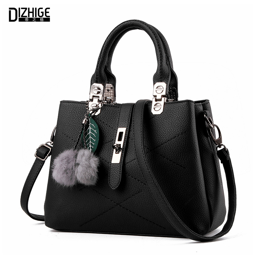 cc6c88f0bb4 DIZHIGE Brand Fashion Fur Women Bag Handbags Women Famous ...