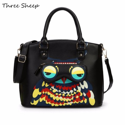 ladies hand bags owl bag women handbags designer brand medium hand bag woman female handbags red sac a main femme baobao