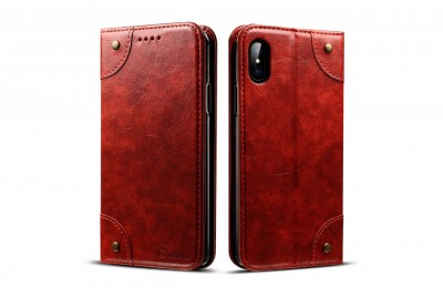 Brand Best Red flip case for iPhone 6/iPhone 6s/iPhone 6S Plus/iPhone 7/iPhone 7 Plus//iPhone 8/iPhone 8 Plus/iPhone X/iPhone XS/iPhone XR/iPhone XS Max