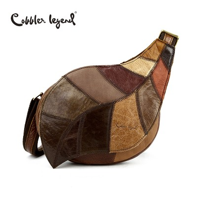 Cobbler Legend Brand Design 2017 Genuine Leather Bag Chest Pack Women's Messenger Bag Vintage Shoulder Bags bolso de las mujeres