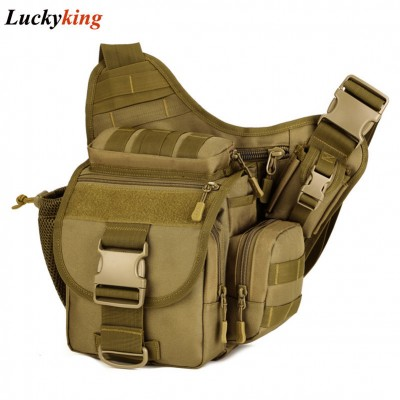 Camera Bag Army Messenger Men Handbag Casual Saddle Camouflage Shoulder Bags High Quality Nylon Pack