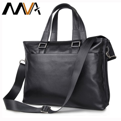 Top Grain Cowhide Leather Men Bags Fashion Handbags Men's Briefcase Laptop Shoulder Cross body Bag For Business Men PH7328A