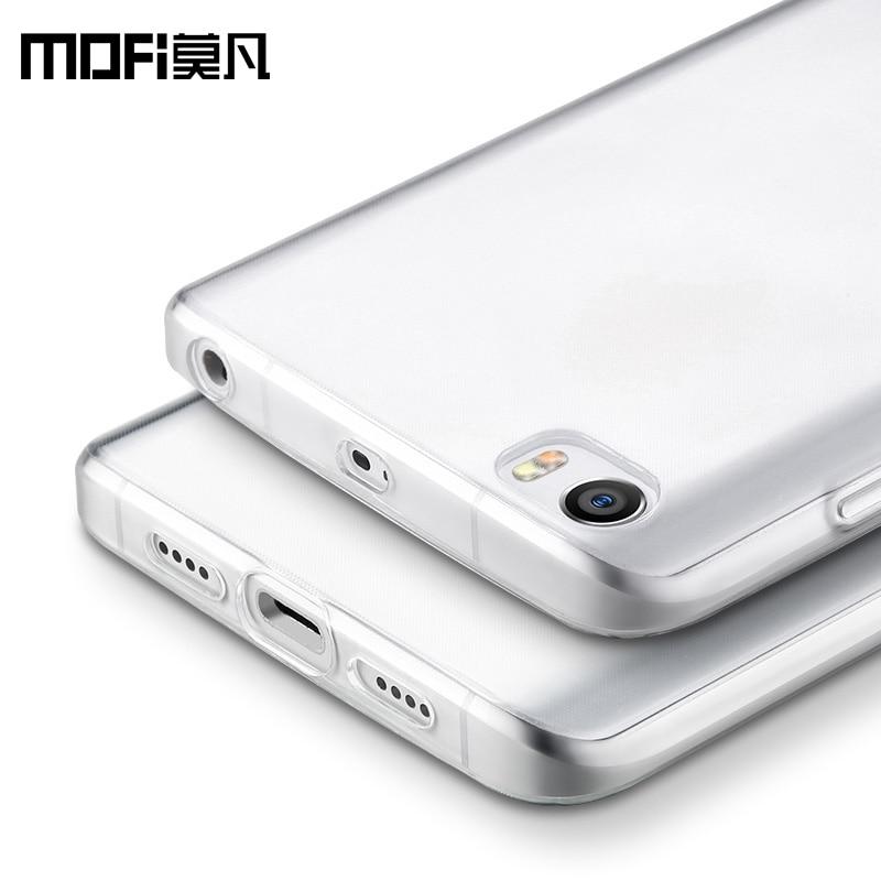 Xiaomi Mi 5 Case Cover Silicon Transparent Mi 5 Cover Back Ultra Clear MOFi for xiaomi Mi 5