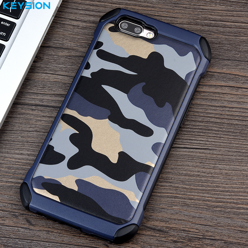 Phone Case For OPPO R11 R11 Plus Army Camouflage 2 in1 Pattern PC+TPU Armor Anti-knock Protective Back Cover For R11 Plus