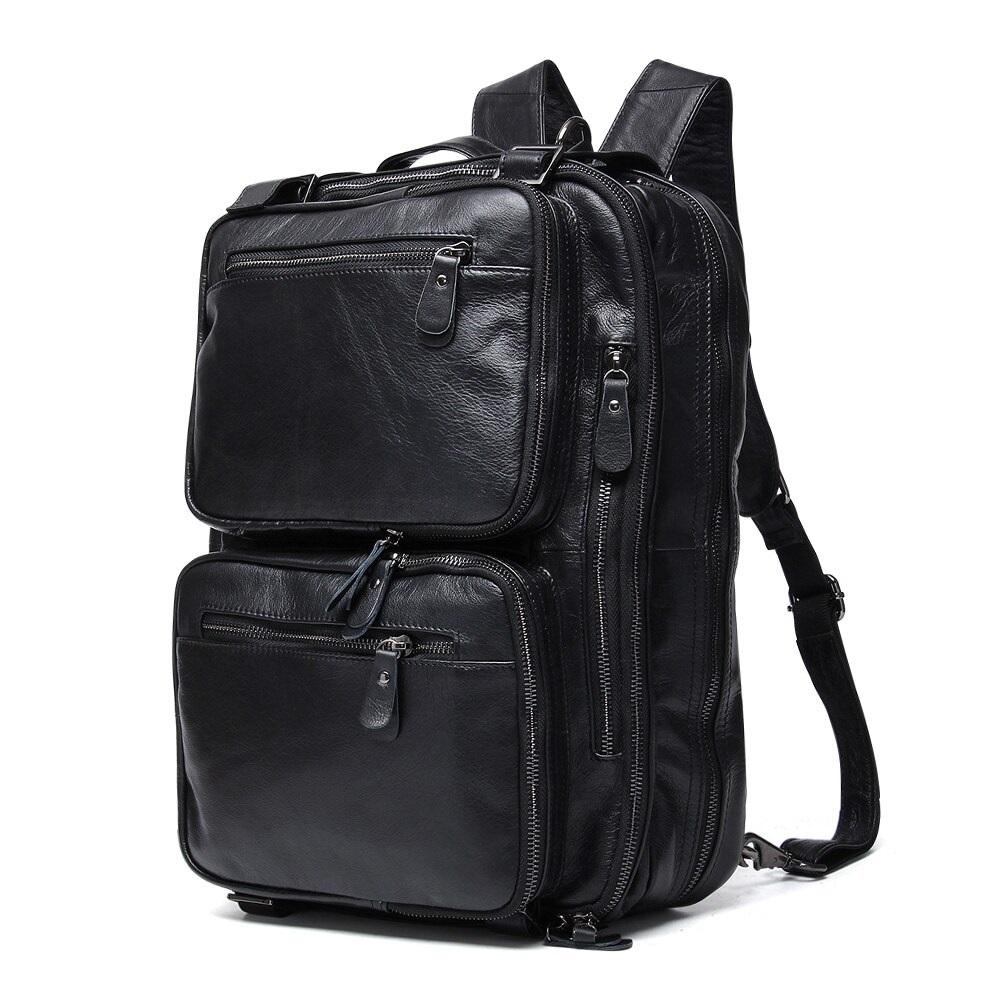 New Original Genuine Leather Vintage Men Travel Bag Duffel Bag Men's Handbag Luggage Travel Bag Large Capacity Leather Shoulder Tote backpack bag
