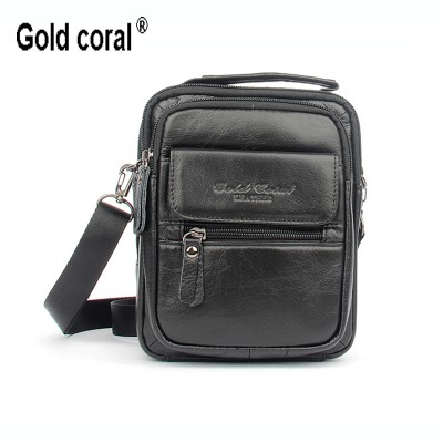100% guarantee genuine leather business men messenger bags with high quality casual briefcase handbags  shoulder bag