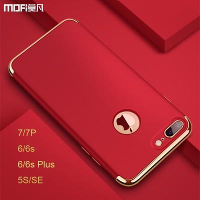Phone Cases For iphone MOFi For iphone 5s case for iphone 7 plus case Red for iphone 7 case SE cover for iphone 6s plus cover capa coque funda luxury
