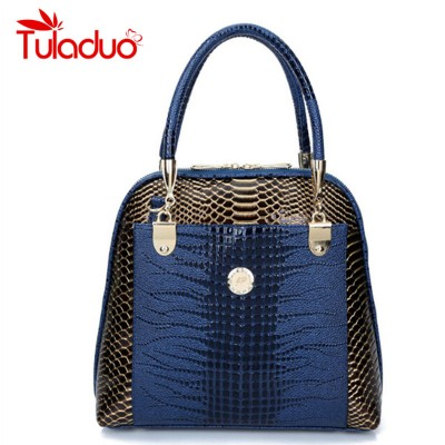 Bolsos Carteras Mujer Marca Women's Leather Bag Women's Skin Shoulder Messenger Bags Fashion Serpentine Female Crossbody Handbag