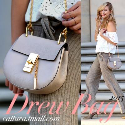 Shote bag chain small bags 2015 genuine leather bag messenger bag handbag women's