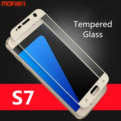 Phone Cases For Samsung For Samsung s7 glass tempered glass screen protector full cover for samsung galaxy s7 tempered glass MOFi original protect film