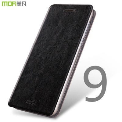 MOFi Case for Huawei honor 9 case flip case MOFi original PU leather full cover honor 9 stand case holder capa coque funda carcasa housing
