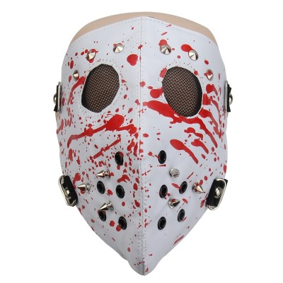 Dust-proof Cool Cycling Face Mask Punk Rock Rivets Masks Anti-Pollution Bicycle Bike Outdoor Training Mask Face Shield
