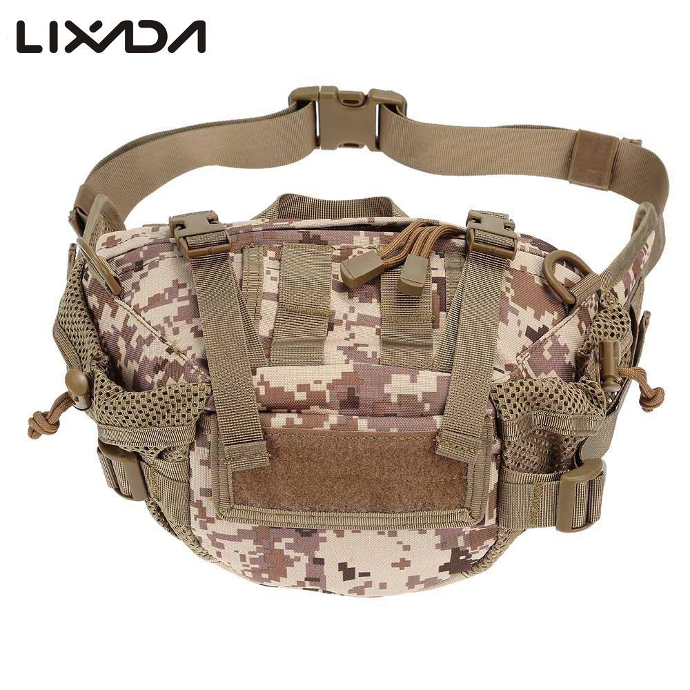 US Tactical Molle Military Waist Belt Bag Bumbags Fanny Pack Outdoor Pouch Bags