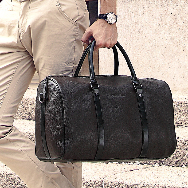 ffb873bf72 Luxury Brand Natural Genuine Leather Men S Travel Bags Vine. Thecultured Travel  Bag Tan