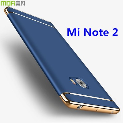 Xiaomi mi note 2 case cover mi note2 cover accessories luxury MOFi original back capa coque funda assemble housing curved 5.7""