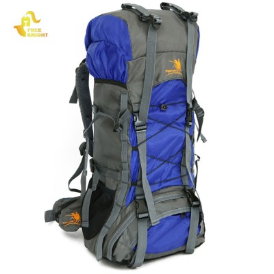 Free Knight 60L Waterproof Durable Outdoor Climbing Backpack Bag Women&Men Hiking Athletic Sport Travel Backpack High Quality
