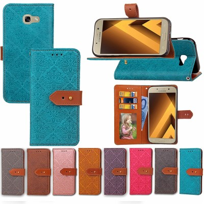 For Coque Samsung Galaxy A5 2019 Case 5.2 inch Flip PU Leather Phone Cover For Samsung Galaxy A5 A520 A520F SM-A520F Case Etui