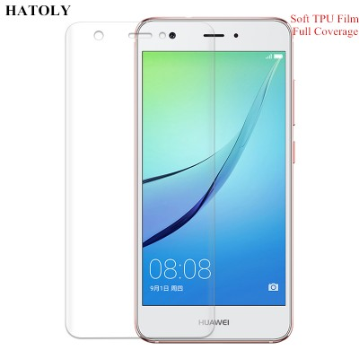 TPU Film for Huawei Nova 3D Full Coverage Soft Screen Protector Film for Huawei Nova TPU Film(Not Tempered Glass)
